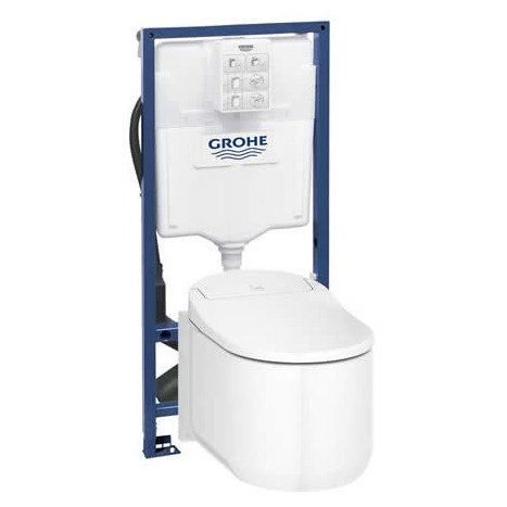 Grohe Rapid SL Mounting frame with Grohe Sensia attached.